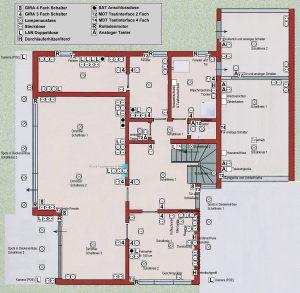 Elektro Planung Erdgeschoss
