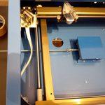 Laborständer montiert mit Gewindestange