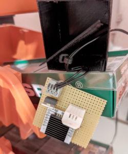 Temperatursensor in Werkstatt