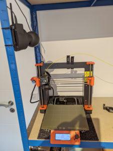 Kamera und 3D Drucker
